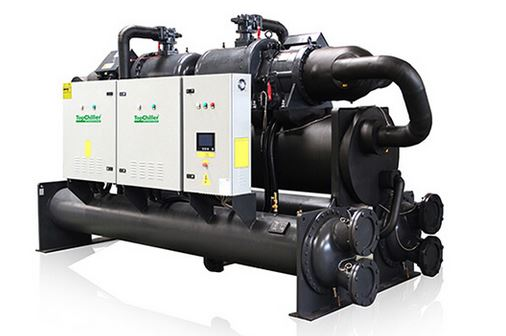 Water coled screw chiller
