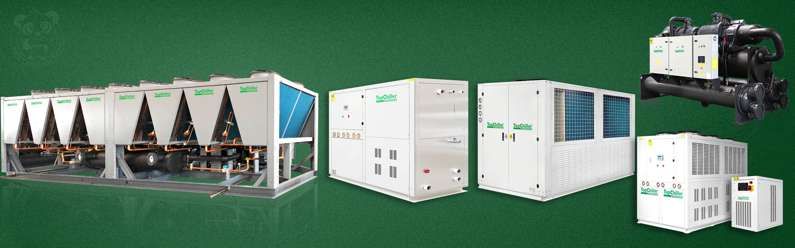 TopChiller Air Cooled Chiller and Water Cooled Chiller